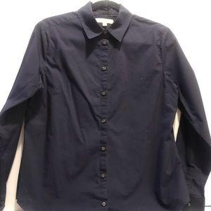 Navy blue Banana Republic button down shirt